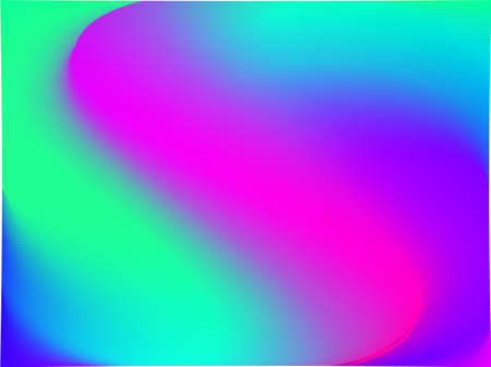 Gradient Mesh Abstract Background Blurred Bright Colors