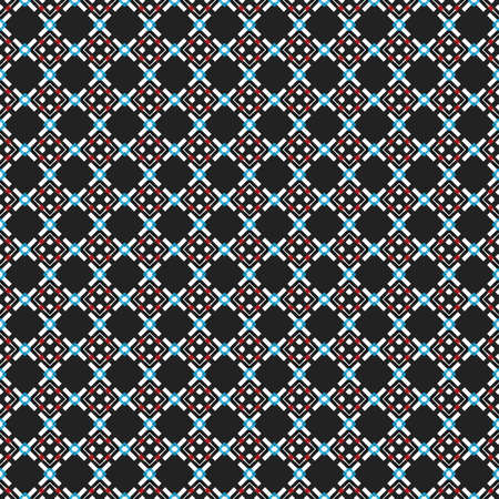 Rhombic seamless pattern. Block repeat background. Geometric pattern in traditional, ethnic style. Design a mosaic, a kaleidoscope. Moroccan tiles.