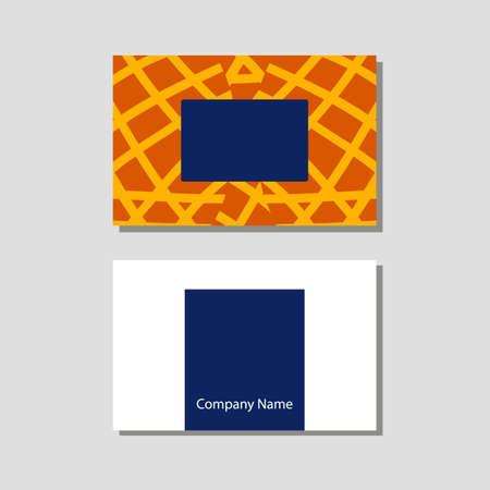Illustration pour Vector knitting shop and crochet store visit card in flat style - image libre de droit