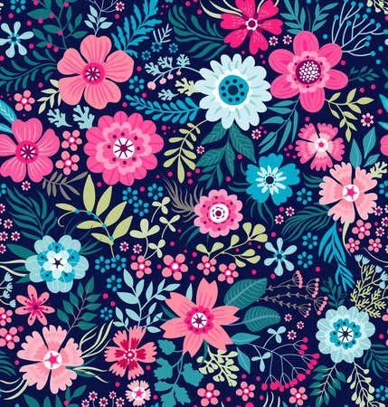 Illustration pour Cute Floral pattern. - image libre de droit