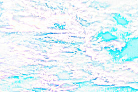 Abstract work on a white background. Dream, romance. abstract; turquoise; purple; blue; design