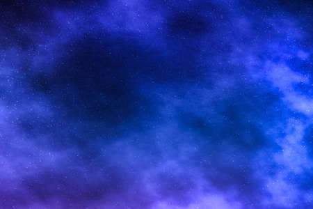 Photo pour Cosmic abstract, space travel and future science concept - Night sky stars background, nebula clouds in cosmos - image libre de droit