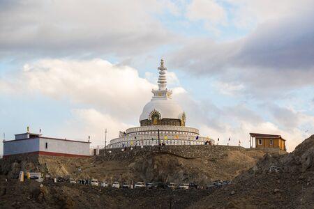 Shanti Stupa Leh Ladakh.