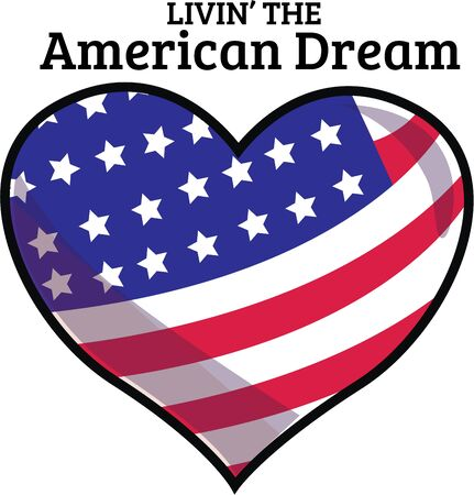 Show your patriotic heart with this heart shape flag design from Ann the Gran!
