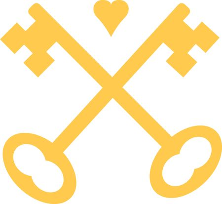 The perfect logo to promote your locksmith business. A neat design from Ann The Gran.