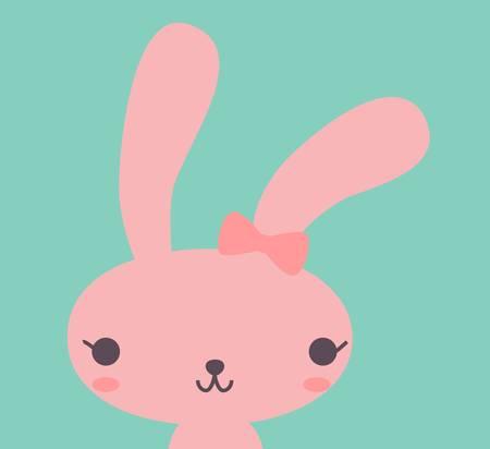 Ilustración de Cute Rabbit  - Imagen libre de derechos