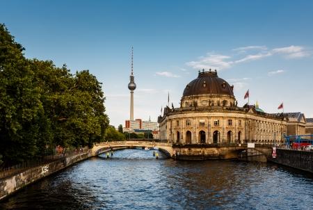 River Spree and Museum Island, Berlin, Germany