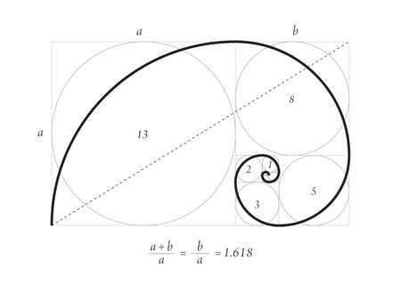 Illustration pour Golden section vector - image libre de droit