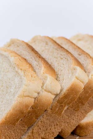 Foto für Toast bread on the wooden board. - Lizenzfreies Bild
