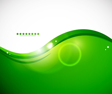 Ilustración de Detailed green abstract background - Imagen libre de derechos