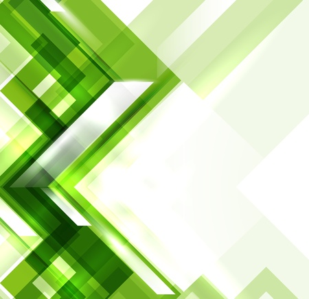 Green modern geometric absract background
