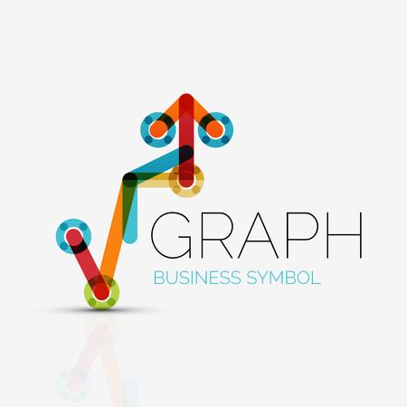 graph  business icon