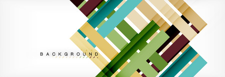 Illustration pour Minimal line design abstract background, vector illustration - image libre de droit