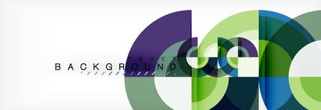 Illustration pour Vector circle abstract background - image libre de droit