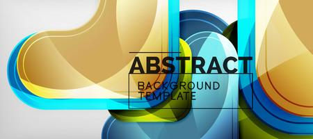 Illustration pour Techno lines, hi-tech futuristic abstract background template with arrow shapes. Vector design - image libre de droit