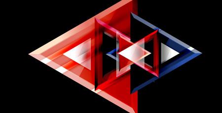 Illustration pour Triangle abstract background - image libre de droit