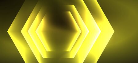 Illustration pour Vintage holographic shiny neon color light, great design for any purposes. Abstract magic motion background. Vintage cinema concept. Technology background. Realistic neon shining. - image libre de droit