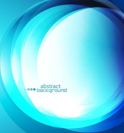 Illustration pour Abstract wave shape illustration, modern wavy techno background. Motion dynamic flow banner. - image libre de droit