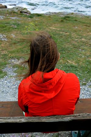 Photo pour CHILD BACK VIEW - image libre de droit