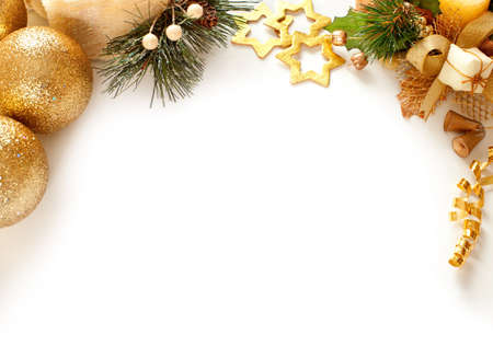 Christmas decoration  background with space for text or image