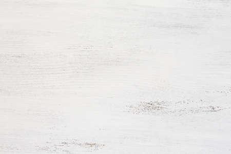 Photo pour Old wooden board painted white. - image libre de droit