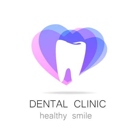 Illustration pour Dental Clinic - template logo. - image libre de droit