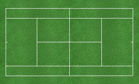 Tennis grass court