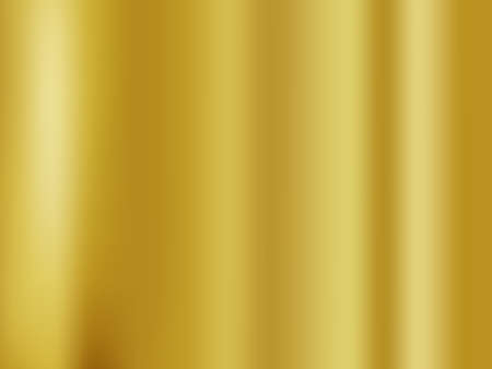 Illustration pour Abstract gold gredient metal color theme satin texture background. Lighting effects of flash. Blurred vector background with light glare - image libre de droit