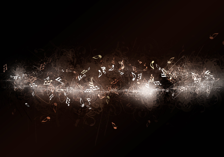 abstract dark music background