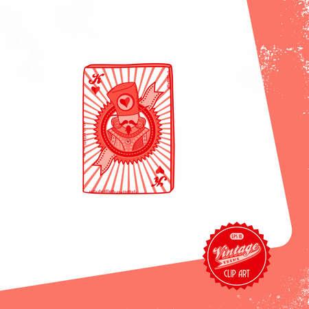 vintage page poker king