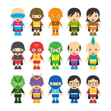 Illustration pour super hero cartoon character - image libre de droit