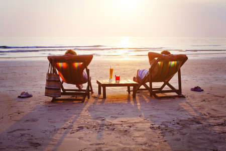 Photo pour relax on the beach - image libre de droit