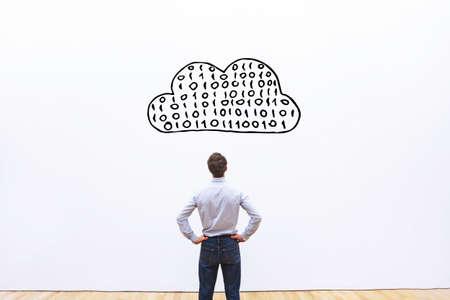 Photo pour cloud computing concept - image libre de droit