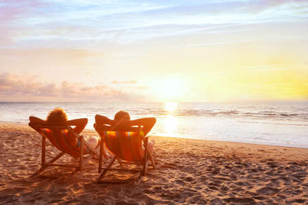 Photo for beach holidays, romantic getaway retreat for couple, luxurious vacation - Royalty Free Image