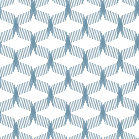 Illustration for Abstract geometric vector pattern. Creative stylish texture. Abstract minimal backdrop for wallpaper, web design, textile, décor, cover template. - Royalty Free Image