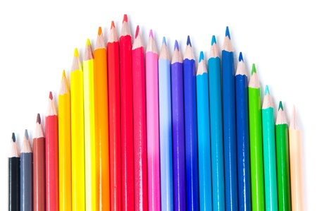 Photo for Multicolored pencils - Royalty Free Image