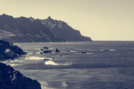 Spectacular ocean view from Roque de Las Bodegas.