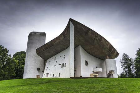 La Notre Dame du Haut, Le Corbusier