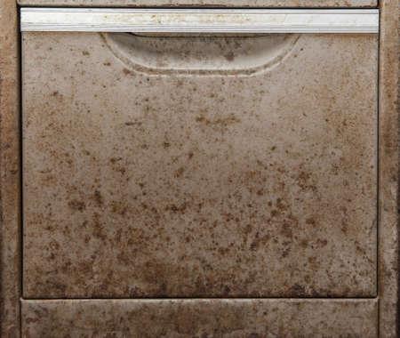 Photo pour Close up of Old metal desk drawers - image libre de droit