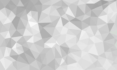 Illustration pour abstract Gray background, low poly textured triangle shapes in random pattern, trendy lowpoly background - image libre de droit