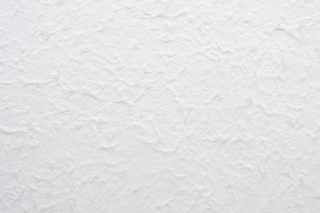 White Handmade Paper Textured Background