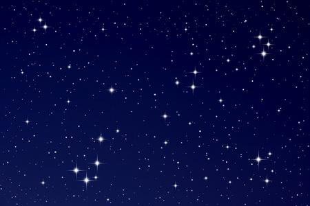 Bright Stars in the night sky