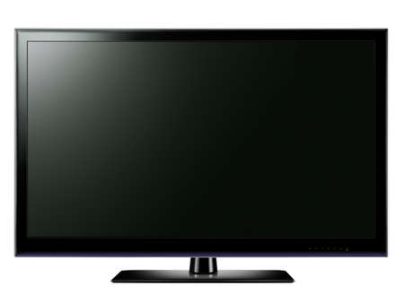 Widescreen LCD TV