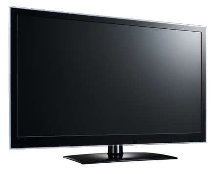 Modern widescreen lcd tv monitor