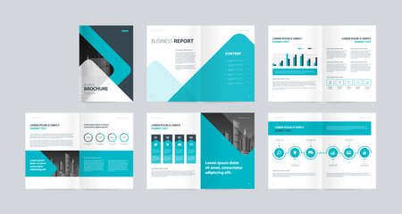 Foto für template layout design with cover page for company profile, annual report, brochures, flyers, presentations, leaflet, magazine, book .and a4 size scale for editable. - Lizenzfreies Bild