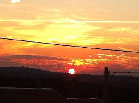 Sunset in Itu - SP  Brazil