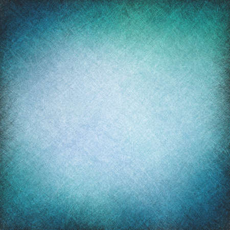 blue vintage background with texture scratch lines and vignette border