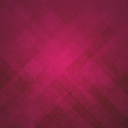 red pink geometric background abstract shapes design, angled line design elements or stripes, squares or triangle abstract modern art design backdrop with distressed vintage texture