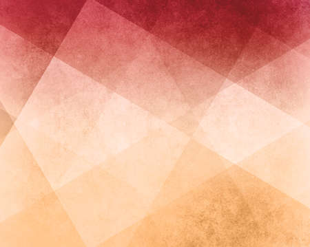 Foto de abstract red white and yellow background white striped pattern and blocks in diagonal lines with vintage pink texture - Imagen libre de derechos