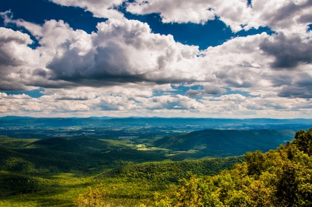 View of the Shenandoah Valle
